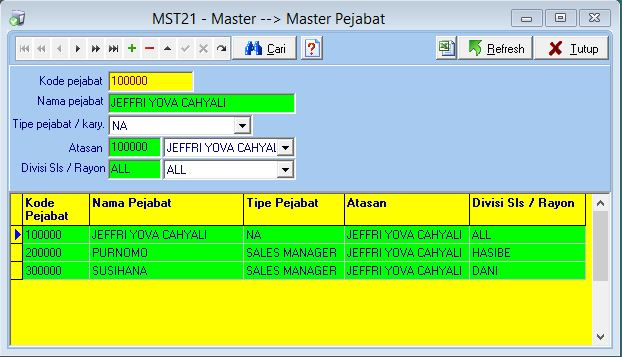 MST21 - Master Pejabat