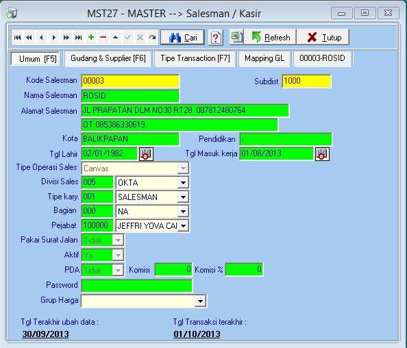 MST27 - Master Salesman 1