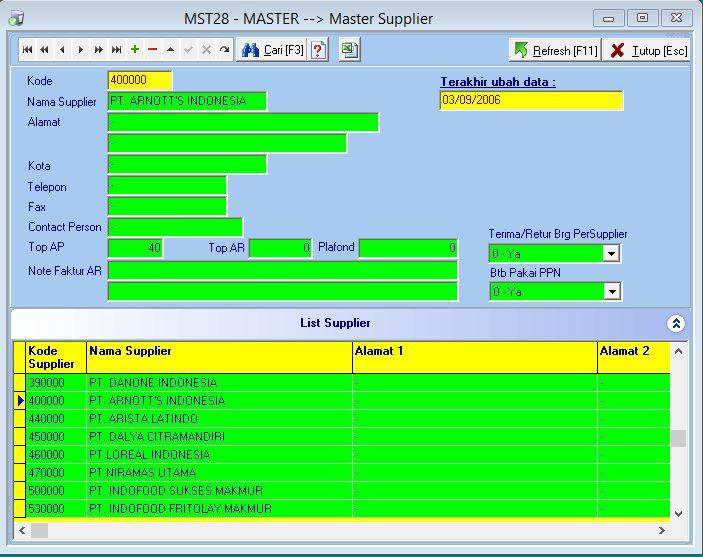 MST28 - Master Supplier